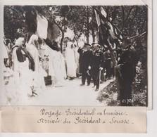 Tunez TUNISIE VOYAGE PRÉSIDENTIEL ARRIVÉE SU   PRÉSIDENT  A SOUSSE 18*13CM Maurice-Louis BRANGER PARÍS (1874-1950) - Africa