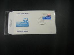 """BELG.1990 2364 FDC (Namur) : """" Water Is Leven / L'eau C'est La Vie """" - 1981-90"""