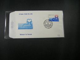 """BELG.1990 2364 FDC (Leuven) : """" Water Is Leven / L'eau C'est La Vie """" - 1981-90"""