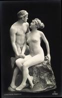 Cp Lebender Marmor, Frauenakt, Männerakt, Nacktanzug, RPH 5945 3 - Ansichtskarten