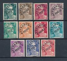 FRANCE - PREOBLITERES N°YT 94/103+104 NEUFS* AVEC CHARNIERE - COTE YT : 8€ - 1922/47 - Préoblitérés