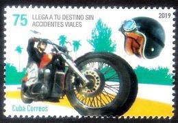 629. Motorcycles - 2019 - MNH - Free Shipping - Cb - 1,75 - Motos