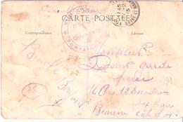 Seine Et Marne :- FONTAINEBLEAU DEPOT CHEVAUX BLESSES - Marcophilie (Lettres)