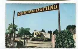 CPsm 66 : CANET PLAGE   Camping Domino   VOIR DESCRIPTIF  §§§ - Canet Plage