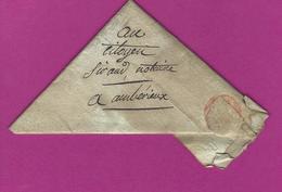 FRANCE Lettre Pour AMBERIEUX Sans Marque Postale - Poststempel (Briefe)