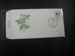 "BELG.1990 2355 FDC (Klerken) : "" Roses De Redouté Et Effigie Reine Louise-Marie / Promotie V/d Filatelie "" - 1981-90"