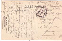Seine Et Marne :- FONTAINEBLEAU CENTRE SPECIAL DE REFORME - Marcophilie (Lettres)