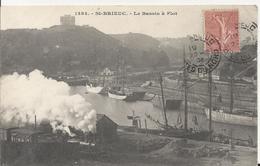Carte Postale Ancienne De Saint Brieuc Le Bassin A Flot - Saint-Brieuc