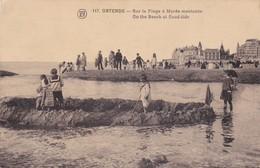 Oostende - Sur La Plage A Maree Montant - Oostende