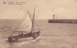 Oostende -vissersboot - Oostende