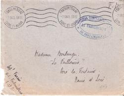 Seine Et Marne :- FONTAINEBLEAU HOPITAL COMPLEMENTAIRE DE FONTAINEBLEAU - Poststempel (Briefe)