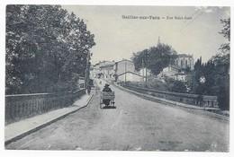 Gaillac Rare Marchande Ambulante Rue Saint Jean Edit. Mme Doat Imp. Photo. A. Thiriat Et H. Basuyau. Toulouse - Gaillac