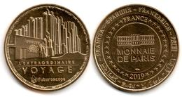 France - Monnaie De Paris - Futuroscope - 2019 - L'Extraordinaire Voyage #1 - 2019