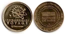 France - Monnaie De Paris - Futuroscope - 2019 - L'Extraordinaire Voyage #2 - 2019