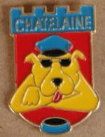 CHIEN - DOG - HUND - POSTE DE POLICE DE CHÂTELAINE - GENEVE - SUISSE - POLICE - POLIZEI - SWISS -       (21) - Policia