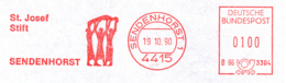 Freistempel 4511 St Josef Stift Sendenhorst - [7] République Fédérale