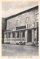 """0716 """"MONT CENIS (TO) - HOTEL DU LAC  (ALT. M. 2000)"""" CART. ILL. ORIG. NON SPED. - Autres Villes"""