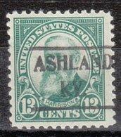USA Precancel Vorausentwertung Preo, Locals Kentucky, Ashland 622-493 - Vereinigte Staaten