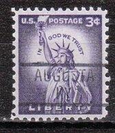USA Precancel Vorausentwertung Preo, Locals Kentucky, Augusta 839 - Vereinigte Staaten