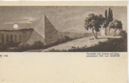 AK 0301  Pyramide Des Cestius Bei Rom - Gezeichnet 1788 Von Goethe / Verlag Ackermann Ca. Um 1900-1910 - Roma (Rom)
