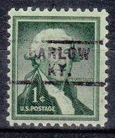 USA Precancel Vorausentwertung Preo, Locals Kentucky, Barlow 729 - Vereinigte Staaten