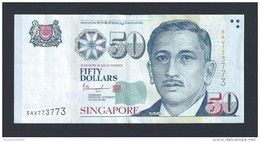 $50 Singapore Portrait Series Money Banknote Repeater Lucky Number 5AV773773 ( #103) - Singapore