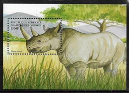 COMORES  BF 83A  * *  ( Cote 11e ) Rhinoceros - Rinocerontes
