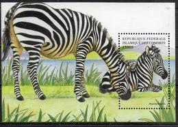 COMORES  BF 82  * *  ( Cote 11e )  Zebre - Postzegels