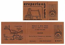 Publicité - Crêperie TY FORM - Kervourt - PLOUARZEL -  Imprimerie Renanaise - St Renan         (4723) - Publicités