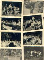 Camp Louveteaux Au STUYVENBERG 1943 – Présence Et Promesse Du Prince Albert – Lot De 25 Photos Originales - Scoutisme