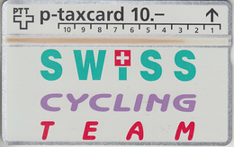 SUISSE - PHONE CARD - TAXCARD-PRIVÉE *** SWISS-CYCLING TEAM *** - Svizzera