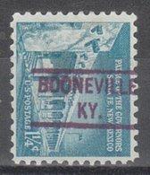 USA Precancel Vorausentwertung Preo, Locals Kentucky, Booneville 804 - Vereinigte Staaten