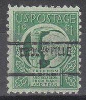 USA Precancel Vorausentwertung Preo, Locals Kentucky, Brooksville 734 - Vereinigte Staaten