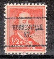 USA Precancel Vorausentwertung Preo, Locals Kentucky, Burkesville 704 - Vereinigte Staaten