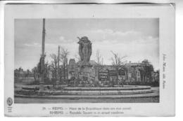 REIMS Place De La République Dans Son état Actuel - Reims