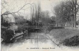 Chartres. La Passerelle Du Boulevard Morard. - Chartres