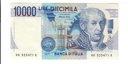 10000 Lire Alessandro Volta K 1998 Q.fds  LOTTO 2719 - [ 2] 1946-… : Républic