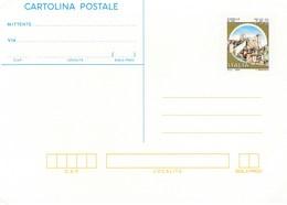 Italy CP 91 1995  Cartolina Postale Castle Di Itri,mint - 6. 1946-.. Republic