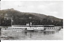 """Dampfer """"Elberfeld"""". (Voir Commentaires) - Barche"""