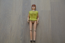 Tonka Toy ,Ambulance 1974 Tonka Rescue Emergency Van Patient Girl , Made In Japan, 1970's *** - Dinky
