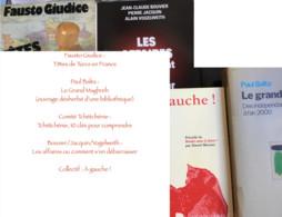 Lot De 6 Livres Des Éditions La Découverte : Fausto Giudice /Paul Balta /Comité Tchétchénie /Bouvier-Jacquin-Vogelweith/ - Lots De Plusieurs Livres