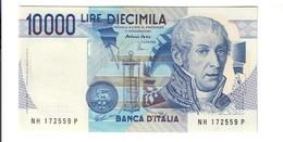 10000 Lire Alessandro Volta H 1997 Q.fds  LOTTO 2720 - [ 2] 1946-… : Républic