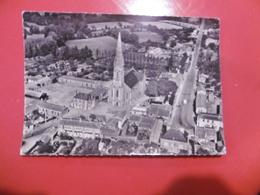 D 85 - La Mothe Achard - L'église Et La Route De La Roche Sur Yon - La Mothe Achard