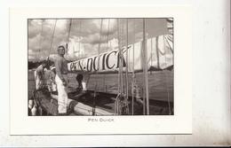 Cpm Eric Tabarly Avec Son Bateai Pen Duick - Ansichtskarten