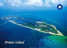 Taiwan Pratas Islands Aerial View New Postcard - Taiwan