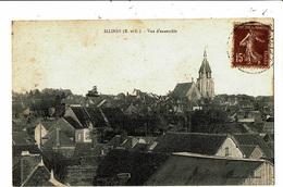 CPA-Carte Postale France -Illiers Vue D'ensemble 1931? VM5683 - Illiers-Combray
