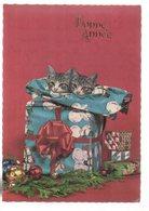 REF 378 : CPSM Chat Cat Bonne Année - Cats