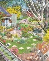 Australien 2019**, KB Im Garten, Diverse Sukkulenten / Australia 2019, MNH, MS In The Garden: Several Succulents - Sukkulenten