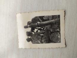 WWII Foto Wehrmacht Soldaten SS ,Gewehr, Flugabwehrartillerie, Maschinengewehr ,Kanone - 1939-45