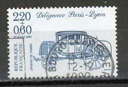 FRANCE - JOURNÉE DU TIMBRE - N° Yvert 2577 Obli.  RONDE DE BOURG EN BRESSE 1990 - Usados